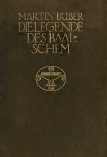 Die Legende des Baalschem - University of Toronto Libraries