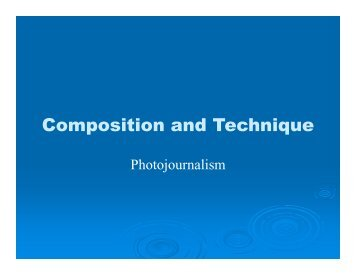 Composition and Technique - Legacy Student Media