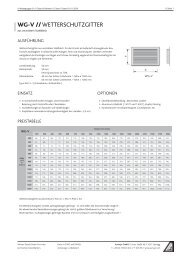Warengruppe Gitter & Rahmen - Aumayr GmbH