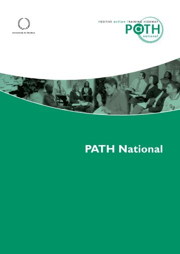 Download our introductory pdf for more about us - PATH National Ltd