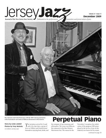 Perpetual Piano - New Jersey Jazz Society