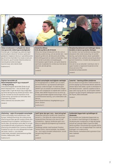 Printvenligt program - SkoleIntra