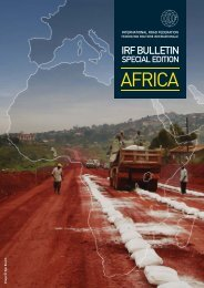 Special Edition - AFRICA - IRF | International Road Federation