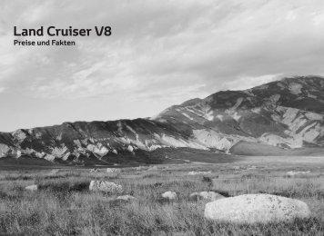 Preisliste Toyota Land Cruiser V8 - Autohaus Keller GmbH & Co. KG