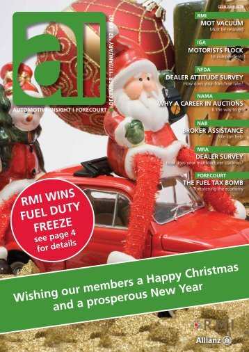 December / January 2012 Issue - Retail Motor Industry Federation