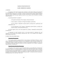 CARLYLE GMS FINANCE, INC. AUDIT COMMITTEE CHARTER I ...