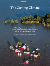 The Coming Climate - Department of Atmospheric Sciences