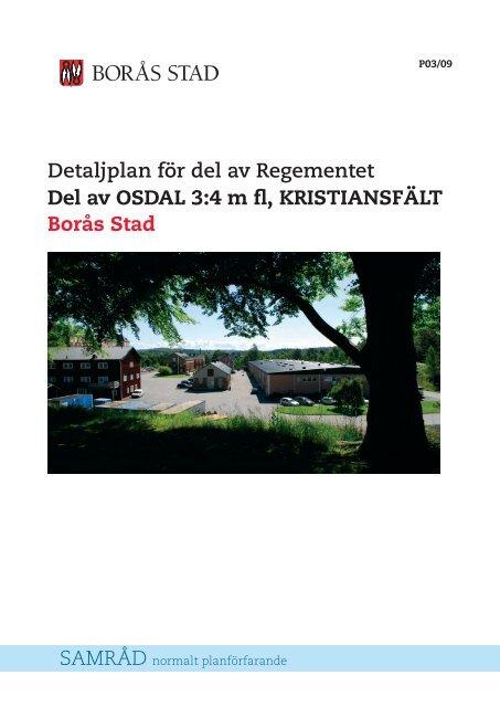 Planbeskrivning - Borås Stad