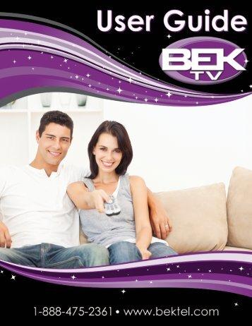Cloud TV - BEK Communications