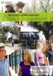 Recoveryundersøgelsen - Region Hovedstadens Psykiatri