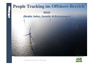 Offshore People Tracking
