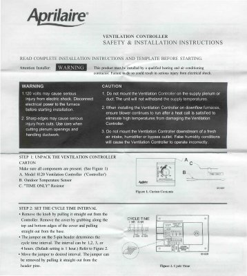 safety & installation instructions - Alpine Home Air Products