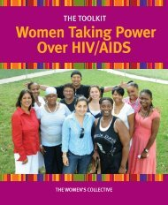 Women Taking Power Over HIV/AIDS - The Women's Collective