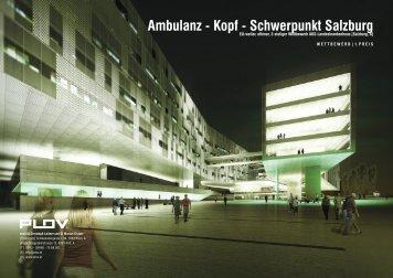 Ambulanz - Kopf - Schwerpunkt Salzburg - plov.at