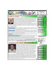 Newsletter -- April 6, 2011 - Westminster 7:10 Rotary