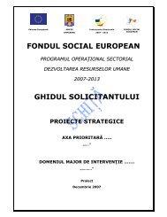 Ghid - Fonduri Structurale .ro