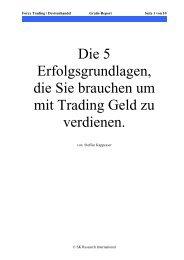 Warum Forex Trading? - Devisenhandel