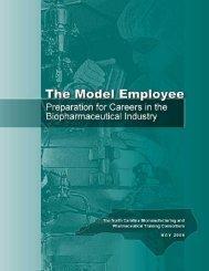 The Model Employee - North Carolina Biotechnology Center