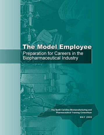 The Model Employee - North Carolina Biotechnology Center