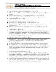 Manual do aluno com informações gerais dos cursos técnicos