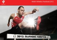 The 2012 Run Wales Road Series run wales ... - Welsh Athletics