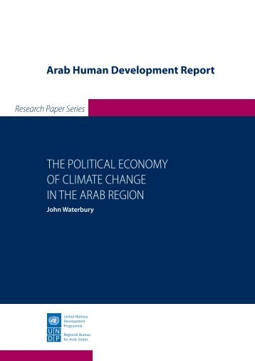 The Political Economy of Climate Change in Arab Countries