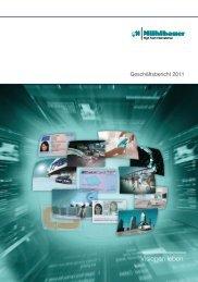 Download Geschäftsberichte 2011 - Mühlbauer AG