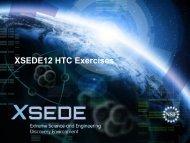 XSEDE12 HTC Exercises