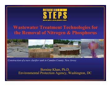 Wastewater Treatment Technologies for the ... - N-STEPS.com