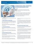 International Email Marketing Metrics Benchmark Study - Silverpop - Page 2