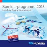 Semiarprogramm2013 - A. Schweizer GmbH