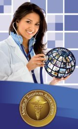 member of the MTA - Medical Tourism Association