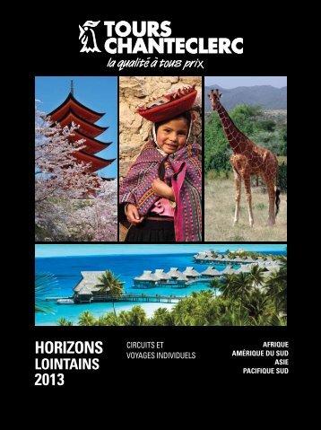 Horizons Lointains - Voyages à rabais