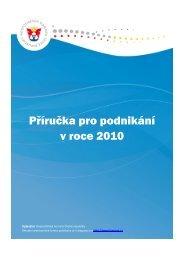 Příručka pro podnikání v roce 2010 - Hospodářská komora České ...