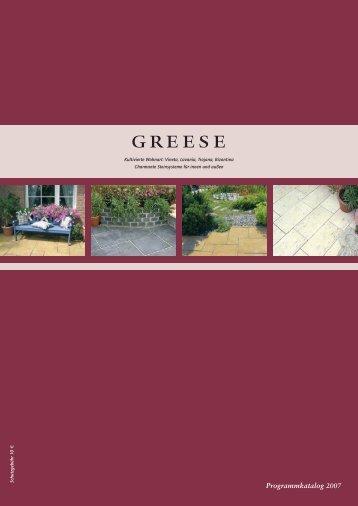 Start-Katalog Greese - bei Greystone Ambient & Style.