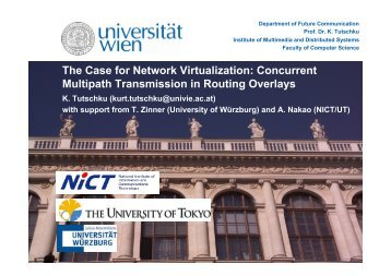 Impact of Path Performance on Concurrent Multipath Transmission ...