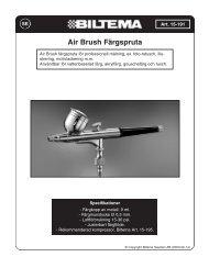 Air Brush Färgspruta - Biltema