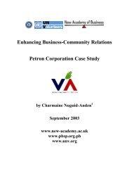 Petron Corporation Case Study - World Volunteer Web