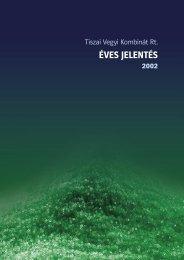 Éves Jelentés 2002 - TVK