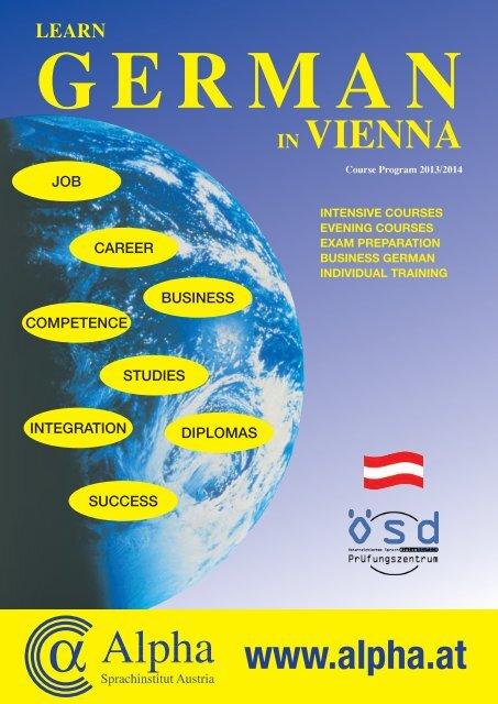 intensive courses - Alpha Sprachinstitut Austria