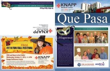 October 2012 - Knapp Medical Center