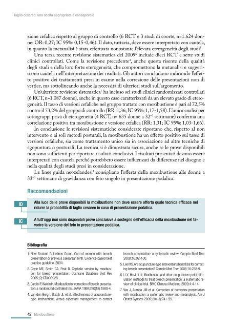 Taglio cesareo: una scelta appropriata e consapevole - SNLG-ISS