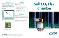 6400-09 Soil CO2 Flux Chamber