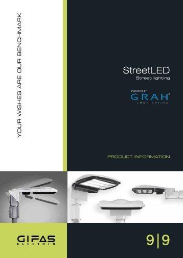 StreetLED - GIFAS W.J. Gröninger ELECTRIC GmbH