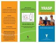 ymca_YRASPbrochure GG.indd - YMCAs