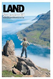 – mannlíf og ferðaþjónusta á Íslandi 2008, 1. tbl. 1. árg. - Land og saga
