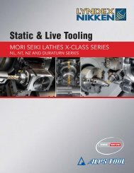 Static & Live Tooling - Lyndex-Nikken