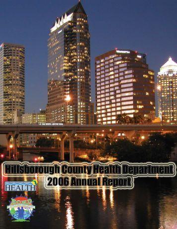 Annual Report 2006 - Hillsborough County Health Department