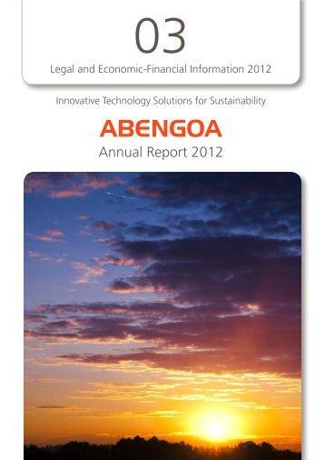 Download full Volume 34.95 MB - Abengoa