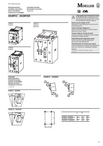 DILMP32…DILMP200 - Moeller